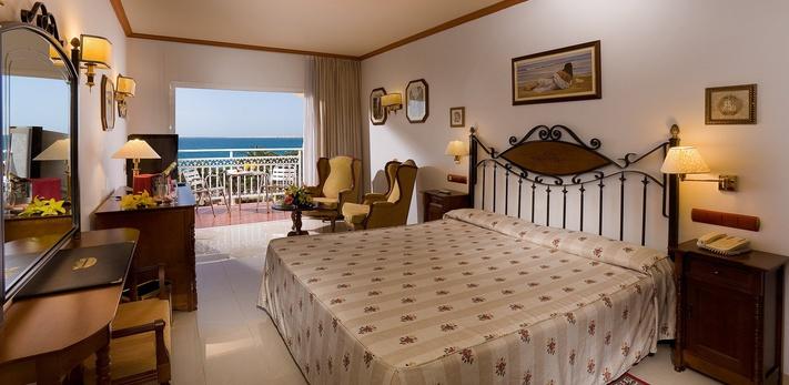 Doppelzimmer zur Einzelnutzung mit Meerblick Hotel San Agustín Beach Club Gran Canarias